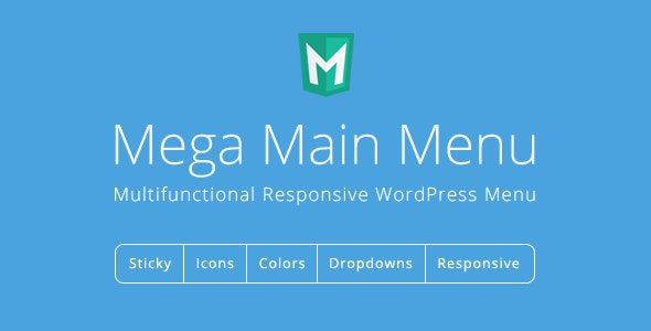 Tải về Plugin Mega Main Menu Version 2.2.0